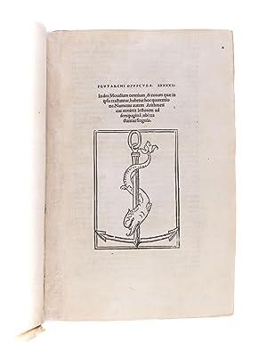 Moralia] Opuscula LXXXXII. Index Moralium omnium &: PLUTARCH of Chareonea