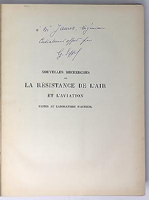 Nouvelles Recherches sur la Résistance de l'Air: EIFFEL Gustave