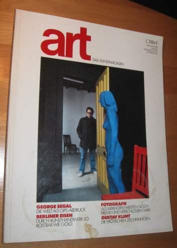 art das kunstmagazin nr von uecker erstausgabe zvab. Black Bedroom Furniture Sets. Home Design Ideas
