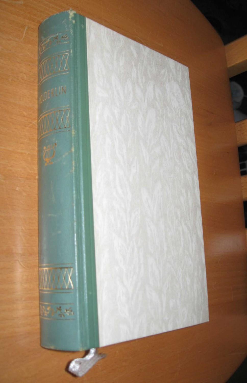 Gesammelte Werke: Hölderlin, Friedrich