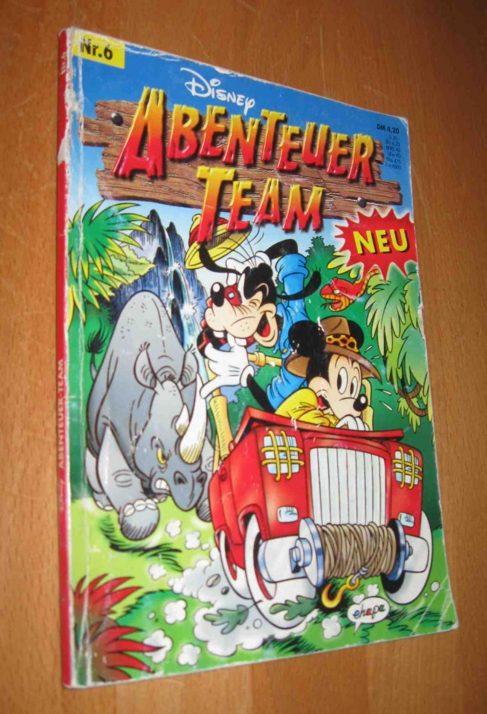 Disney Abenteuer Team Nr. 6