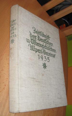 Zeitschrift Des Deutschen Und Österreichischen Alpenvereins (Jahrbuch): Barth, Hanns