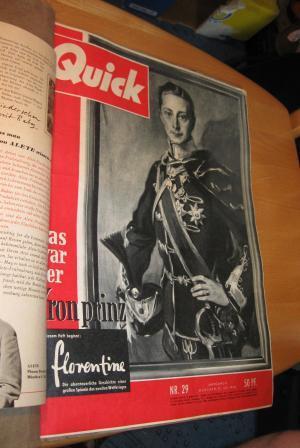 Horn Lesemappe: Quick Nr. 29/ 1956: Kenneweg, Diedrich (