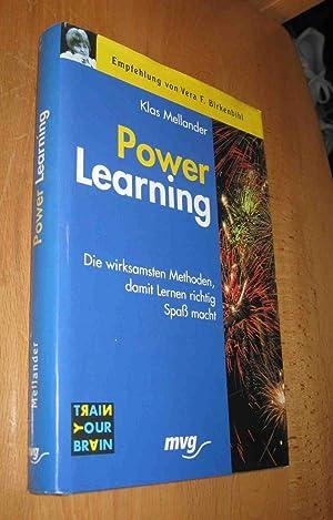 Power Learning: Mellander, Klas
