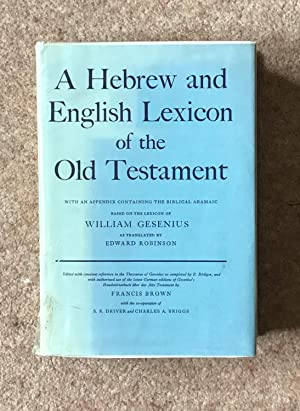 hebrew lexicon old testament - Seller-Supplied Images - AbeBooks