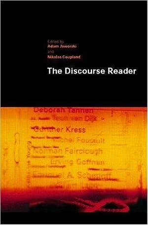 The Discourse Reader: Jaworski, Adam &