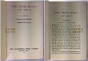 The True Story of Ah Q: Lu Hsun; Translated