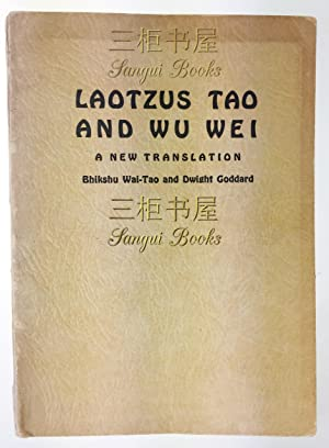 an examination of taoism wu wei and the iraq war Wei-wu-wei: nondual action by david loy philosophy east and  is the central paradox of taoism and as a concept is second in importance only to the tao.