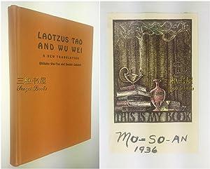 Laotzu's Tao and Wu Wei: A New: Bhikshu Wai-Tao and