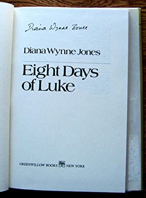Eight Days of Luke: Jones, Diana Wynne