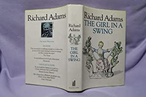 The Girl In A Swing : Signed: Adams, Richard