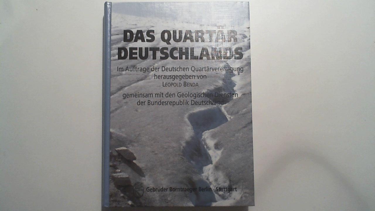 Das Quartär Deutschlands