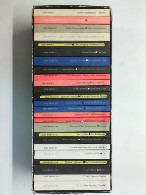 Diogenes mini-Bibliothek der Weltliteratur. 25 Bände mini