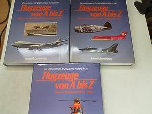 Flugzeuge von A - Z 3 Bände,: Alles-Fernandez, Peter: