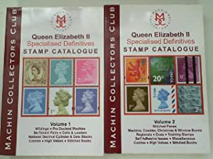 Queen Elizabeht II Specialised Definitives Stamp Catalogue 2 Volumes,