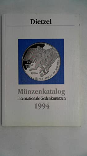 Münzenkatalog - Internationale Gedenkmünzen 1994,