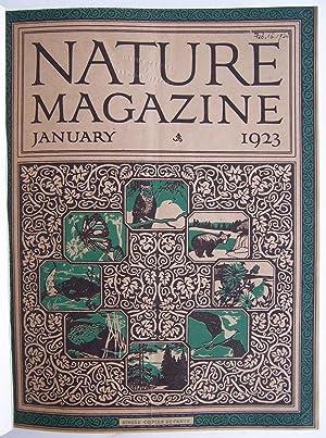 Nature Magazine Volumes 1 & 2 (Volume 1 # 1, 1923 through Volume Volume 4 # 6, 1924 Complete): ...