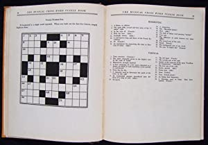 The Musical Cross Word Puzzle Book: Molloy, M. S. & M.A. Snyder (inscribed)