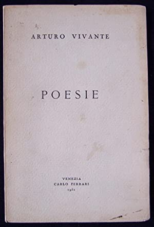 POESIE: Vivante, Arturo (signed)