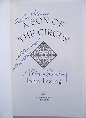 A Son of the Circus: Irving, John (signed)
