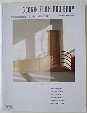 Scogin Elam and Bray: Critical Architecture /: Linder, Mark