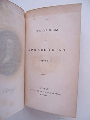 The Poetical Works Of Edward Young (Volume 1 and 2 Complete): Young, Edward