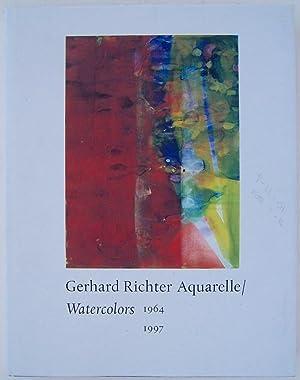 Gerhard Richter: Watercolors: 1964-1997: Richter, Gerhard; Schwarz, Dieter