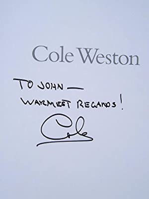 Cole Weston: At Home and Abroad: Weston, Cole (signed)