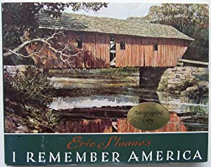 I Remember America: Sloane, Eric (signed)