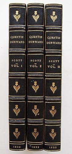 Quentin Durward - 3 volumes.: Scott, Sir Walter