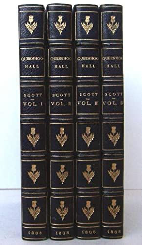 Queenhoo-Hall, A Romance: And Ancient Times, A Drama. (4 Volumes complete): Strutt, Joseph (Sir ...