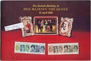The Sixtieth Birthday of Her Majesty the Queen 21st April 1986 ( with Stamps ): Barden, Mike Barden