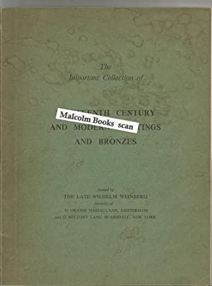 Catalogue of the Highly Important Collection of Nineteenth Century and Modern Paintings and Bronz...