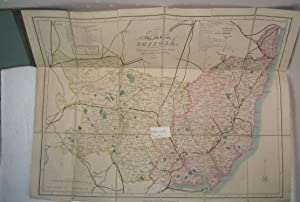 Collins' Railway Map of Suffolk / Map of the county of Suffolk divided into hundreds. Containing ...