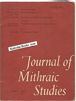 Journal of Mithraic studies Vol.II. No. 1.: Gordon, R.L Gordon