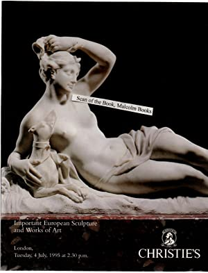 Christie's London 4 July 1995 Sale Catalogue Auction . Important European Sculpture and Works of ...