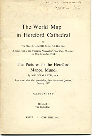 The World Map in Hereford Cathedral & the Pictures in the Hereford Mappa Mundi