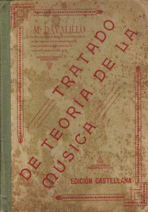 Tratado de teoría de la música: Davalillo, M.