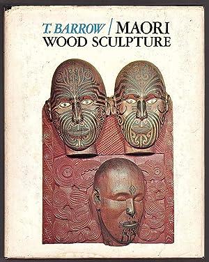 Maori Wood Sculpture Of New Zealand: T Barrow