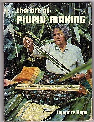 Art of Piupiu Making: Instructional Manual Setting: Ngapare Hopa