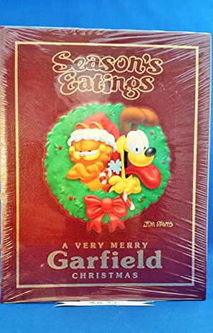 Season's Eatings, A Very Merry Garfield Christmas - New, Sealed, Signed, First Edition, Free ...