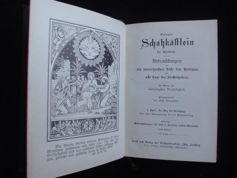 Goldenes Schatzkästchen Für Weltleute. 1.Band. Der Weg: Romanus Joh.