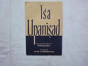 Isa Upanisad: Sankaracarya (Commentary).