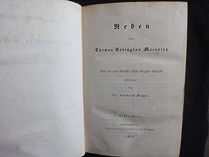 Thomas Babington Macaulay s Ausgewählte Schriften. 7.,8.,9.: Macaulay Thomas Babington.