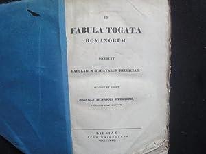 De Fabula Togata Romanorum accedunt fabularum togatorum: Neukirch Ioannes Henricus
