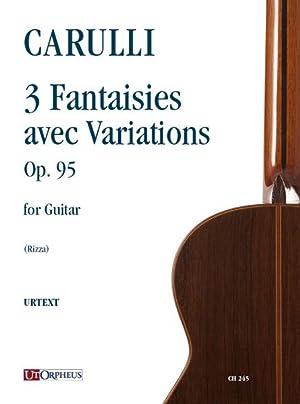 3 Stücke für Gitarre Op. 4a - Guitar