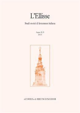 L'Ellisse, 10/1 - 2015. Studi storici di: Various