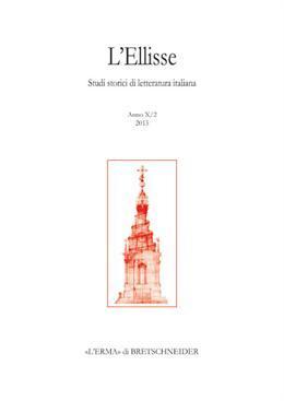 L'Ellisse, 10/2 - 2015. Michelangelo scrittore. Studi: Various