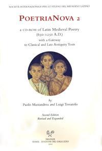 PoetriaNova 2. A CD-ROM of Latin Medieval: Various