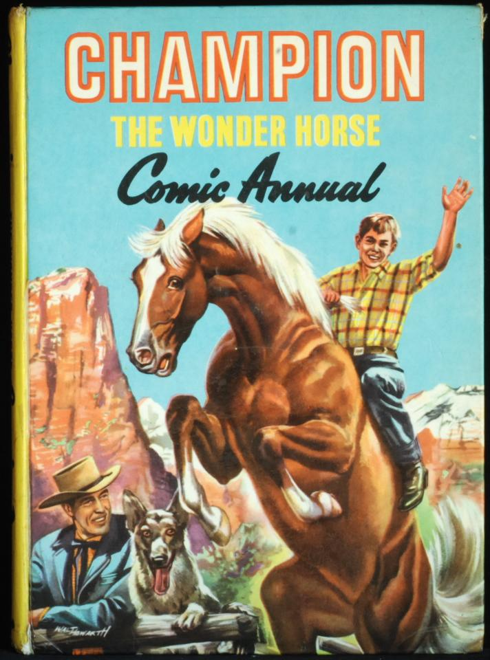 Champion The Wonder Horse by Unnamed: Very Good Hardcover (1958) | Mammy Bears Books